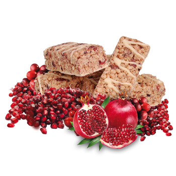 Cranberry and Pomegranate Bar